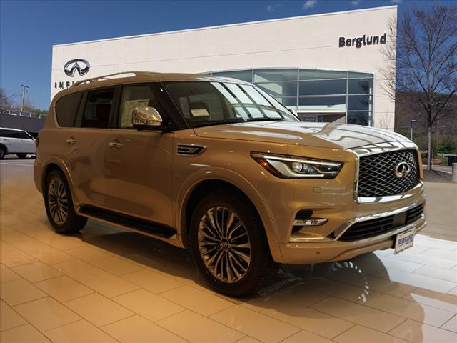 New 2019 Infiniti Qx80 Luxe 4wd Suv In Roanoke Lri1680 Berglund