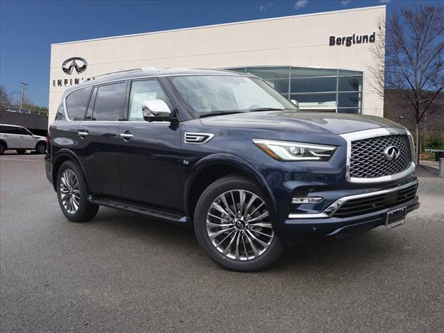 New 2019 Infiniti Qx80 Luxe 4wd Suv In Roanoke Lri1670 Berglund