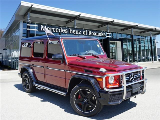 Pre-Owned 2016 Mercedes-Benz G-Class Base