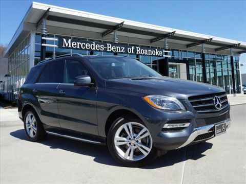 Pre-Owned 2015 Mercedes-Benz M-Class ML350 All-wheel Drive 4MATIC®