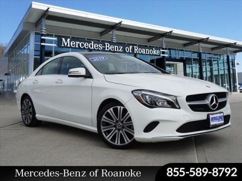 Pre-Owned 2019 Mercedes-Benz CLA Base 4MATIC®